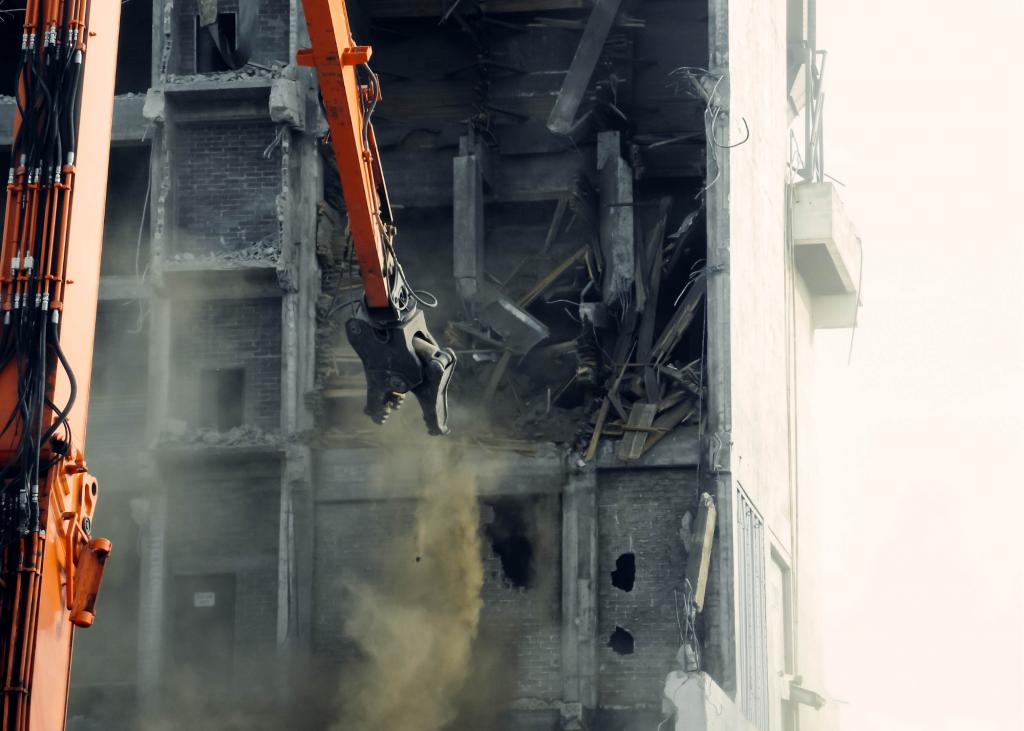 Conventional Demolition Photo 2