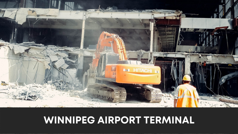 Winnipeg Airport Terminal - Thumbnail Photo